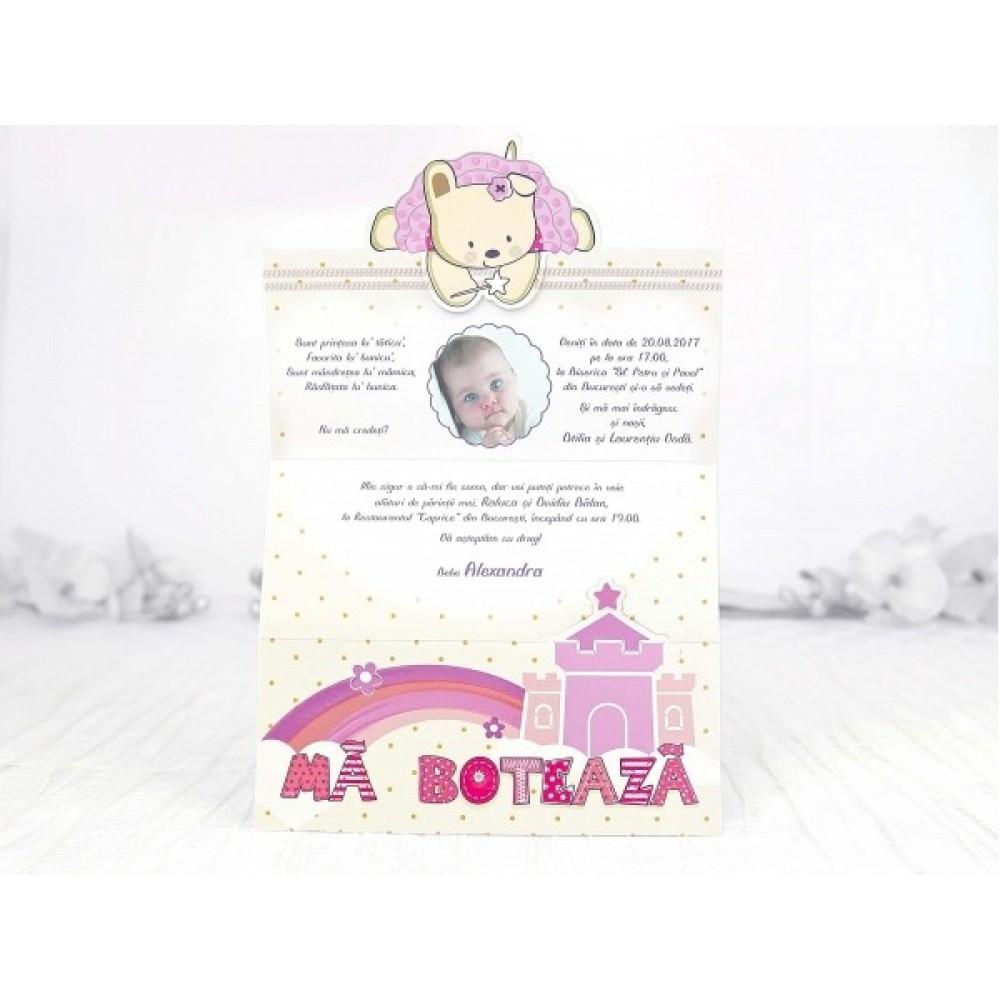 Invitatie Botez Printesa Din Castel