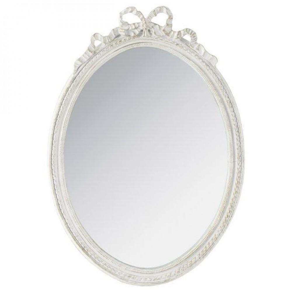 Oglinda alba, pentru mireasa, model antic
